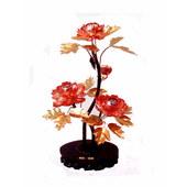 Copper peony (three flowers)