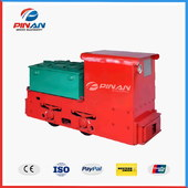 Underground Mining Battery Powered Electric Locomotive