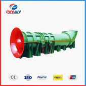 FBDY Series Mining Flameproof Press-in Type Contra-rotating Axial Flow Fan