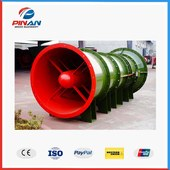 FECB Series Mining Explosion-proof Blowing Contra-Rotating Axial Local Fan