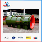 FEEM series coal mine underground use explosion-proof exhaust axial flow main fan