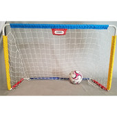 Kid Mini Metal Detachable Portable Soccer Goal