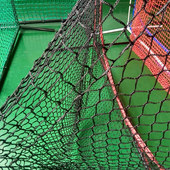 Wholesale 7X7 ' Baseball Net Knotted Sports Netting