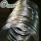 Cold galvanized wire for industrial use