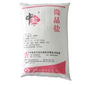 Microcrystalline salt