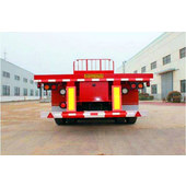 Three-axle flatbed semitrailer CTD9400P