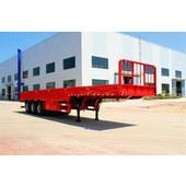 Three-axle fence semitrailer