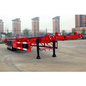 Three-axle container transport semitrailer CTD9401TJZG