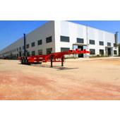 Three-axle container transport semitrailer CTD9400TJZG