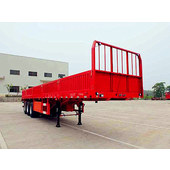 Three-axle fence semitrailer