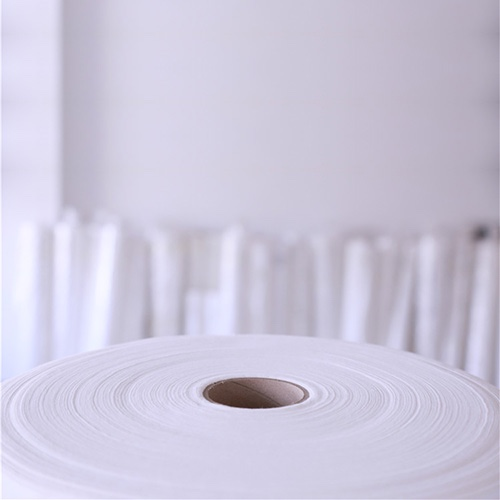 Cheap Soft 100% Polyester Spunlace Non Woven Fabric for Disposable Towels CZJC05