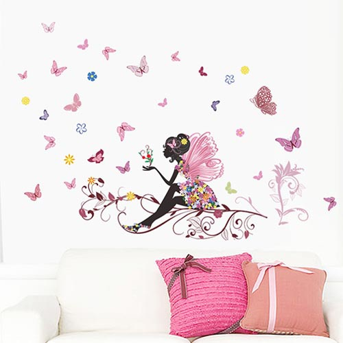 Beautiful Butterfly Wall Art Decor Stickers for Living Room or Bedroom CZKL18
