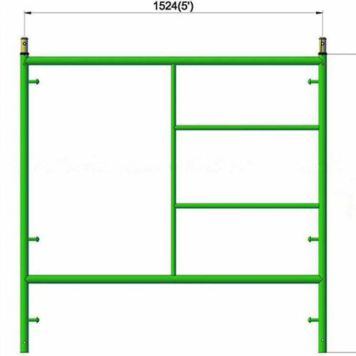 Main Ladder Frame Scaffolding System CZCQ12