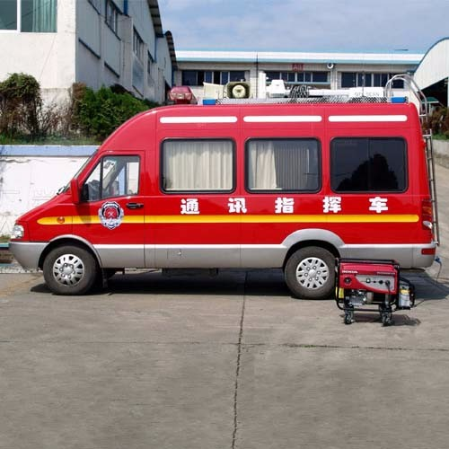 Advanced Mobile Fire Command Vehicles for Sale CZHM05