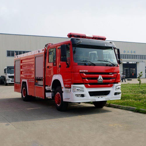 Fire Tender Vehicle, Water Tanker Fire Truck for Fire Fighters CZHM06