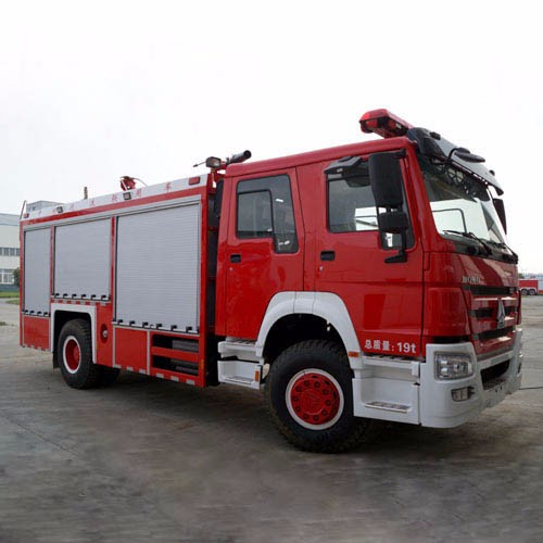 Foam Powder Fire Rescue Vehicles, Fire Fighting Vehicles for Sale CZHM08