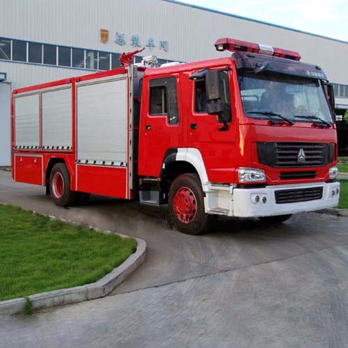 New Dry Powder Fire Rescue Truck for Sale CZHM09