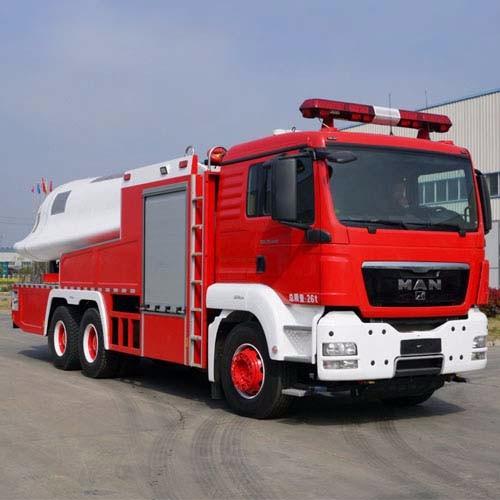 High Power Turbojet Firefighter Truck, Jet Powered Fire Truck CZHM12
