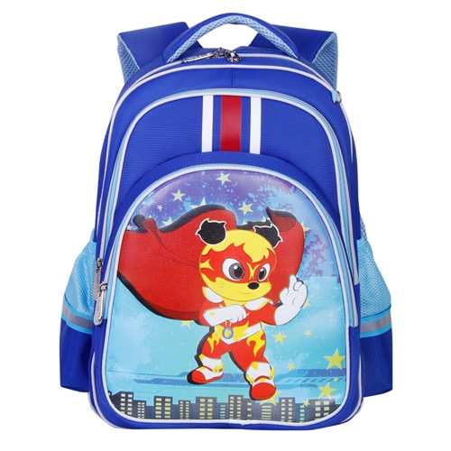 SMJM School Backapck for Boys Students Durable Jacquard Kids Bookbag CSSMJM04