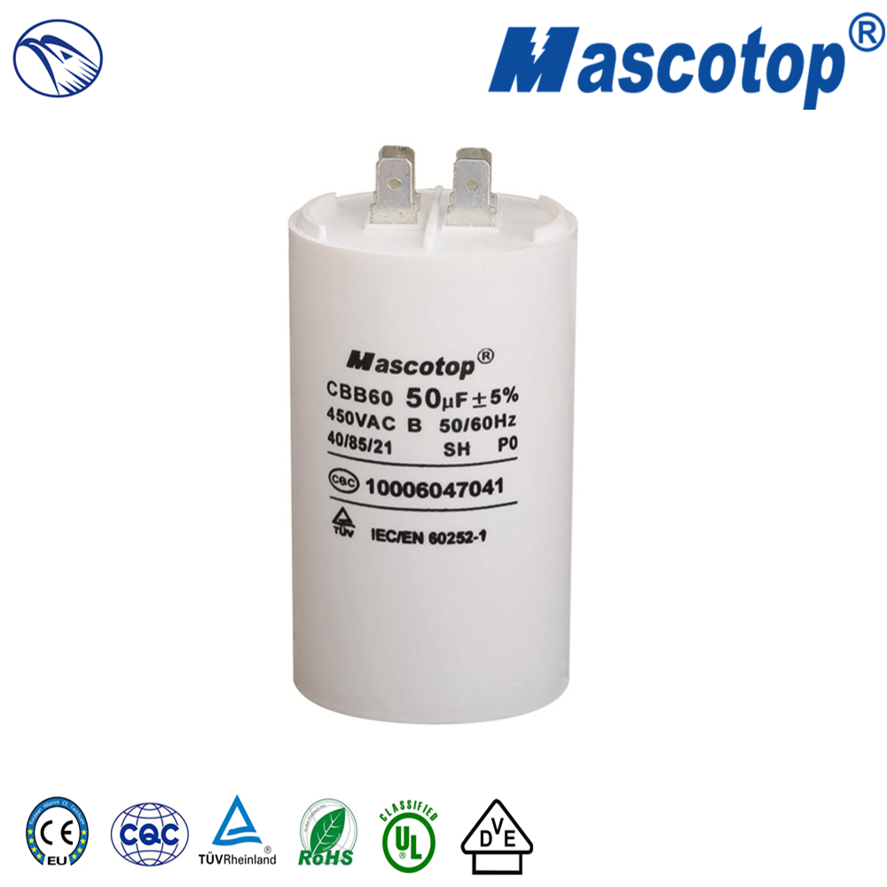 CBB60 AC Metalized Capacitor NGMT09