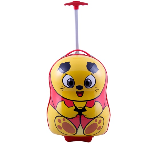 SMJM 17 Inch Unique Shape Hard Shell Luggage Cool Carry On Suitcase for Children  CSSMJM14