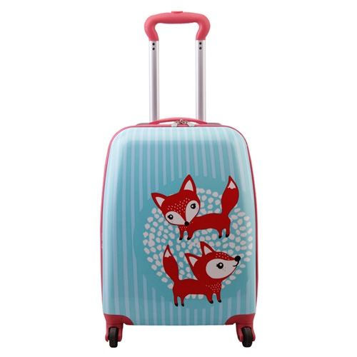 SMJM 18 Inch HIgh Quality Big 4 Wheeled Luggage Branded Kids Suitcase  for Travel and School CSSMJM18