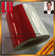 Red And White Advertising Reflective Tape FDLZT15