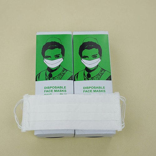 One-layer paper face mask XTZC03