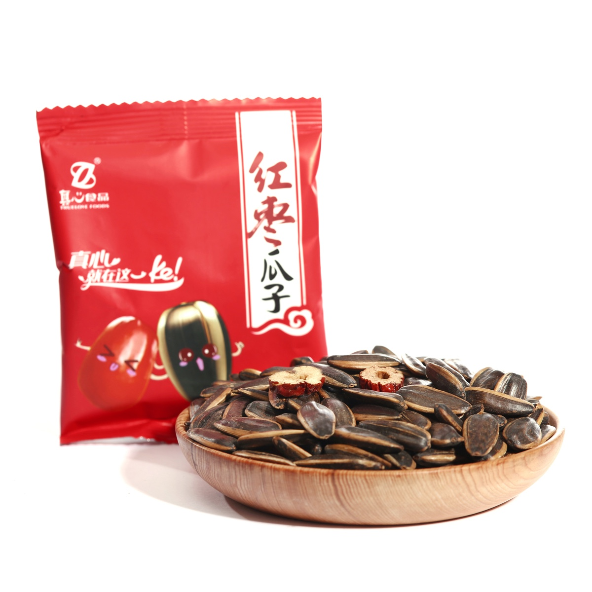 Red Date Flavor Roasted Sunflower Seeds for buyers FDZX03
