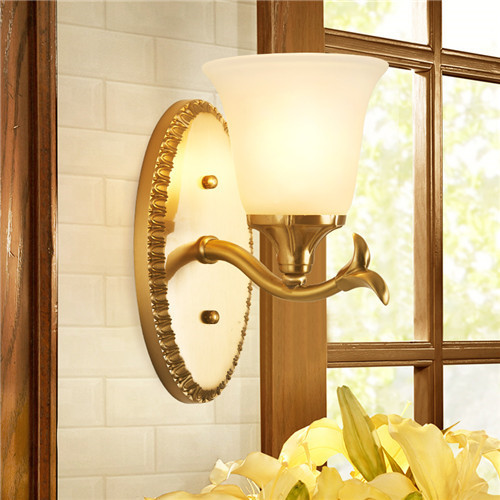 CJB XBD9027-1W Copper Craft Wall Lamp CSCJB01