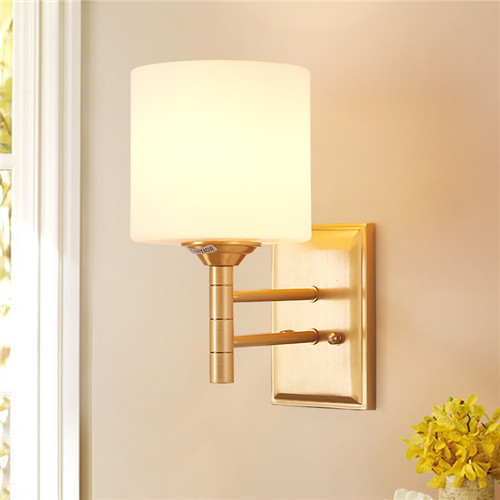 CJB XBD9004-1W Chinese All-copper Modern Simple Wall Lamp CSCJB07