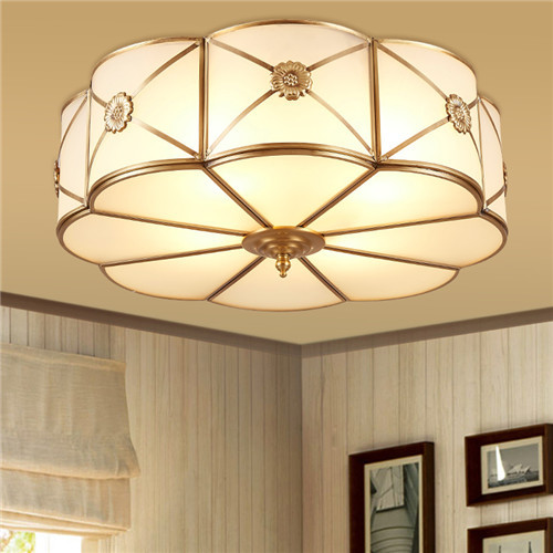 CJB MC014-3Q American Luxury All-copper Ceiling Lamp CSCJB23