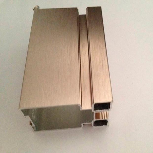 Sandblasting Electrophoresis Aluminum Profiles for Windows and Doors AYKMD11