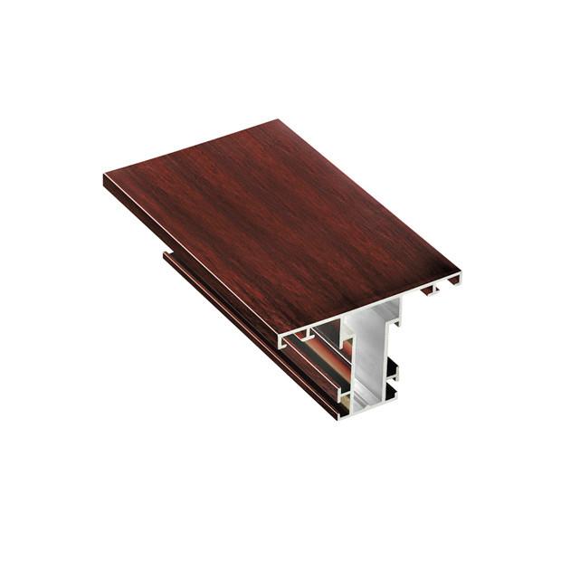 Coated Wood Grains Aluminum Profiles AYKMD12