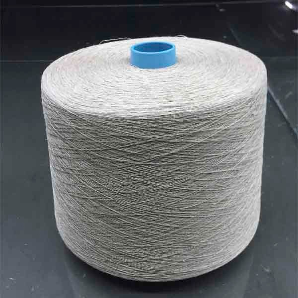 24Nm Long Hemp Grey 100% Pure Linen Yarn AYJXYM13