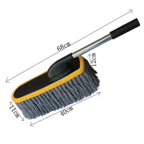 Stainless Steel Straight Handle Wax Brush GQLK01