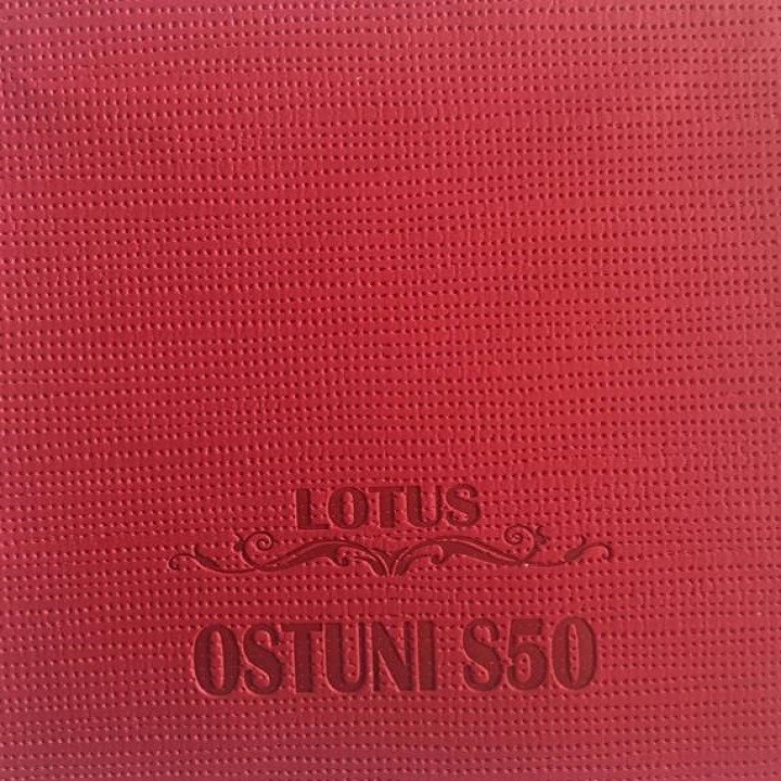 Ostuni S50 Red Leather Cover for Notebook Cover, Diary Cover, Eletronics Cover, Box Cover NGXYH10
